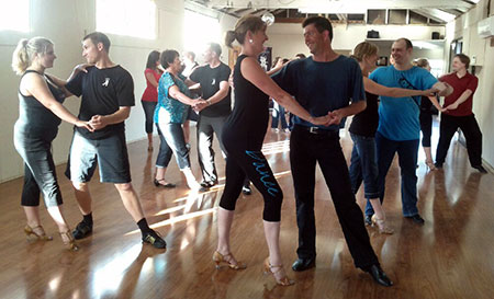 Advanced Salsa Dance class at LatinFire in Christchurch