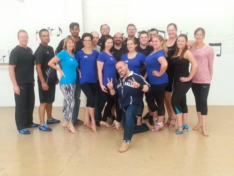 Salsa Performance Team and instructor training, Jaime Jesus Sydney Australia LDA