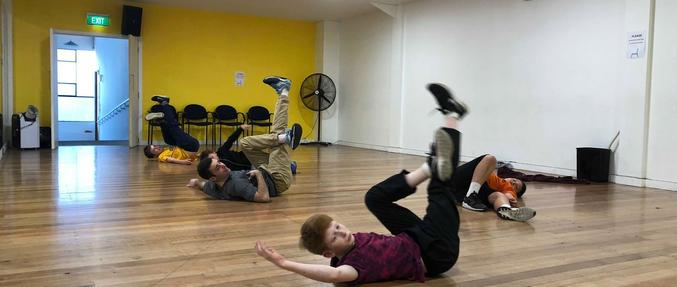 Hip Hop and Break dance Boys class Christchurch