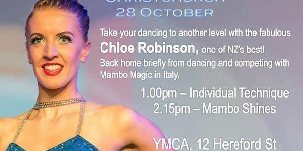 Chloe Robinson Workshops - Oct 28