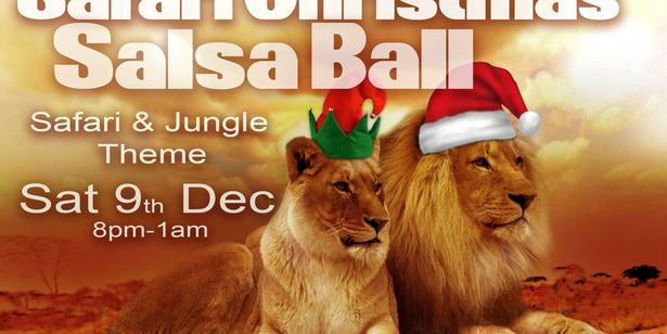 Safari Christmas Salsa Ball