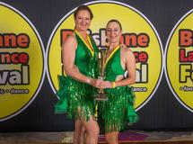 World Salsa Solo 1st Place Masters Duets