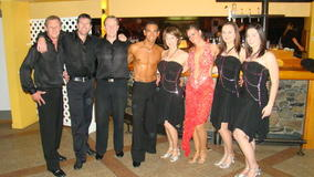 Team performing with Gian and Masha 2009