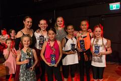 Dance Revolution Kids Showcase Dance Group Photo