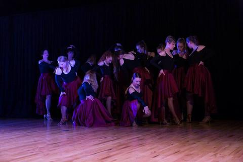 Dance Troupe Action - Final Pose