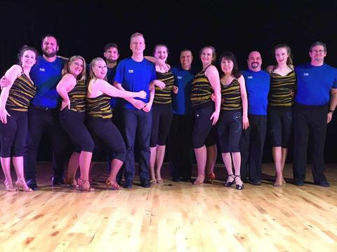 Salsa Dance Troupe group photo