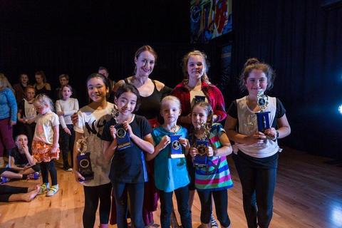 Kids dance awards