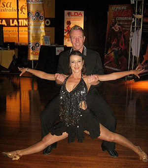 Donna and Warren - Salsa Dance teachers
