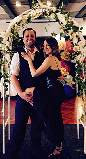 Donna & Mike at the Christchurch Wedding Expo